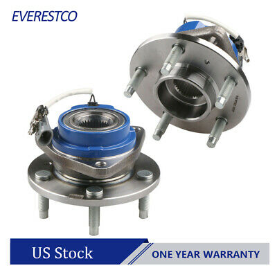 2X Front Wheel Hub & Bearing Assembly For Chevrolet Impala Pontiac Grand Prix