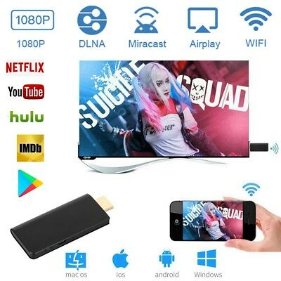 Miracast WiFi HDMI HD 1080P TV Dongle Stick DLNA Airplay Adapter for Android/IOS