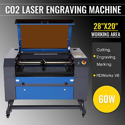 w/Water-Break Protection 12''x8'' High Precision 40W CO2 Laser Engraver