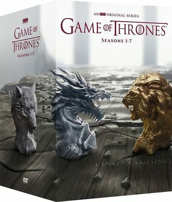 Game of Thrones: The Complete Season 1-7 (DVD, 2017 34-Disc Box Set)