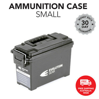 Small Ammunition Case Weatherproof Ammo Dry Box Hunting Sealed