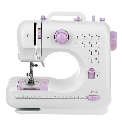 12 Stitches Electric Multi-function Portable Compact Desktop Sewing Machine