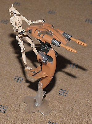 STAP AND BATTLE DROID  Kenner 1998  Star Wars  Action Figur