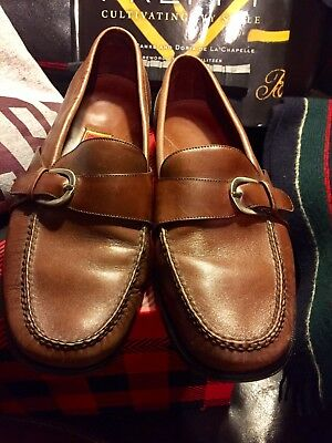edc893e189b Cole Haan City Pinch Buckle Loafer Moc Slip-On Loafers Burgundy Shoes Men s  10