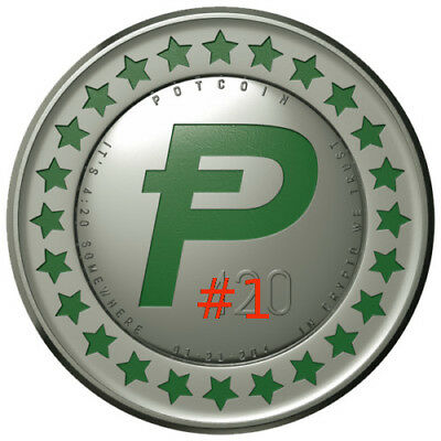 18.333333333 POTCOIN POTCOINS DIGITAL CURRENCY ! Beginners Special!