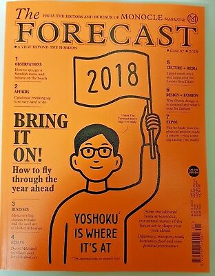 Monocle magazine = The Forecast = #7 = 2018 = A View Beyond the Horizon