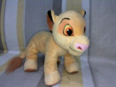 """Baby Simba from The Lion King 8"""" Plush Soft Toy by Disney"""