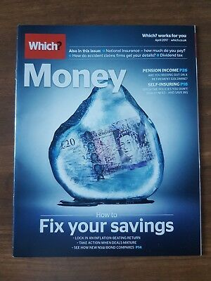 Which? Money Magazine - April 2017 Issue - Pension Income- Dividend Tax- Savings
