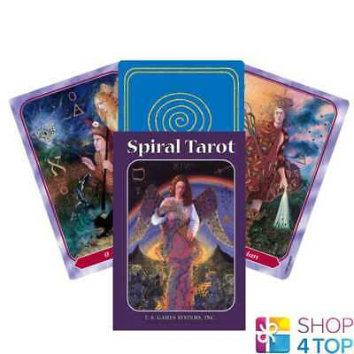 Spiral Tarot Cards Deck By Kay Steventon Esoteric Telling Us Games Systems New