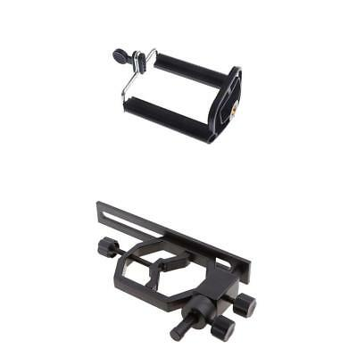 Universal Phone Brackets with Camera Adapter for Spotting Scope Monocular