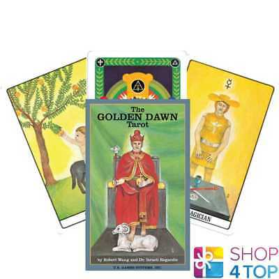 The Golden Dawn Tarot Cards Deck Esoteric Telling Us Games Systems New