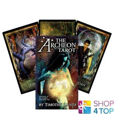 The Archeon Premier Edition Tarot Deck Cars Oracle Esoteric Telling New