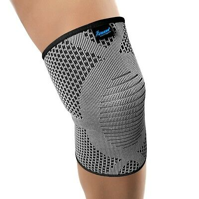 Copper Knee Support Brace Sleeve for Elastic Compression Pain Relief Gym Sports