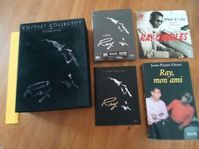 // Neuf *** Coffret Collector Ray Charles ***  Livre Dvd Film Ray Mon Ami Livret