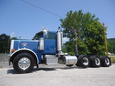 Peterbilt 379 Tri-Axle Daycab Fresh  C-15 Cat 550 Hp Just Inframed Nice Truck