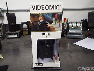 NEW Rode VIDEOMIC Camera Mounted Shotgun MIC On-Camera Recording Microphone