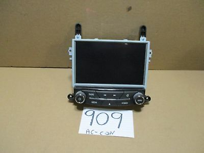 13 14 15 Buick Regal Used Radio Information Display Screen # 909-AC