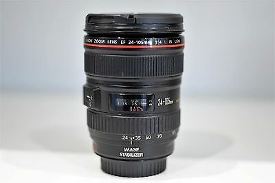 Canon EF 24-105mm F/4 L IS USM Lens, Good Condition (Non-import)