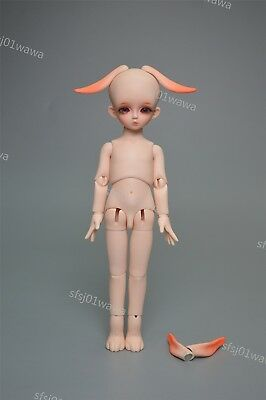 1/6 bjd doll dolls little cute soom hawa rabbit with face make up