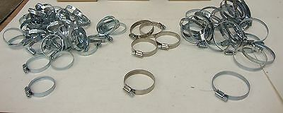 New Hose Clamp Size 35-50mm, 40-60mm, 50-70mm 280 per Lot 17274LR