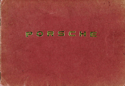 Porsche 356 1952 Owners Manual