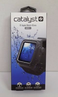 Catalyst Series 2 Waterproof Case and Band for Apple Watch 42mm - Black
