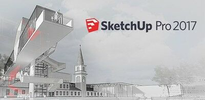 SketchUp Pro 2017 - Full License Serial Number + FULL SOFTWARE INSTANT DELIVERY