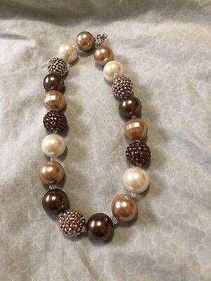 Toddler Girl Chunky Bead Necklace