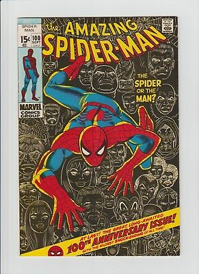 The Amazing Spider-Man #100 (Sep 1971, Marvel) VG/FN (5.0) 100th. Anniversary !!