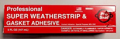 Professional Super Weatherstrip & Gasket Adhesive (Pack of 6)