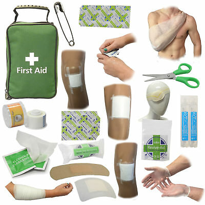 CMS Medical All Round Rip Stop Home Office Travel Car Handy First Aid Bag Kit