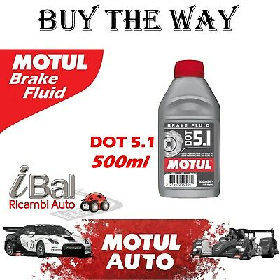 100950 - MOTUL LIQUIDO FRENI DOT 5.1 BRAKE FLUID 500ml