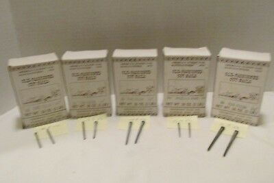 Tremont Nail Co-Old Fashioned Cut Nails 5 different Size Boxes