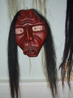 """Iroquois False Face Mask """"Whistler"""" by Art Brown '97"""