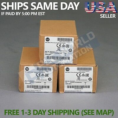2017 *new Factory Sealed* Allen Bradley 2080-Of2 Series A Micro800 Late Mfg Date