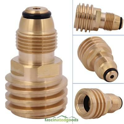 """Converts Propane LP TANK POL Service Valve to QCC Outlet Adapter Converter 2.2"""""""