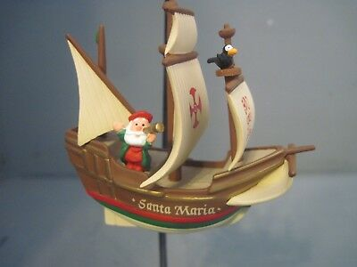 Hallmark Keepsake Christmas Ornament 500Th Anniversary Santa Maria Ornament