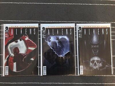 Aliens - Fire and Stone: Issues 1,2, and 3