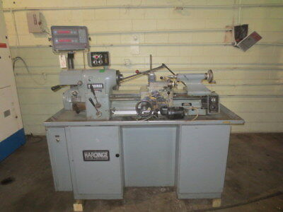 Hardinge HLV-H Tool Room High Precision Lathe