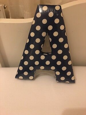 Bnip Mamas And Papas Fabric Letter A