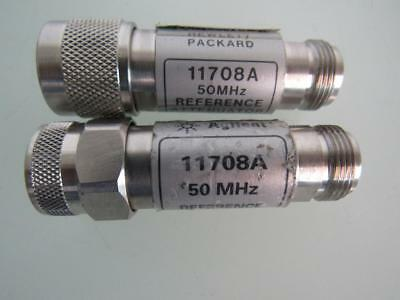 2 HP AGILENT 11708A 30dB 50MHz REFERENCE ATTENUATOR