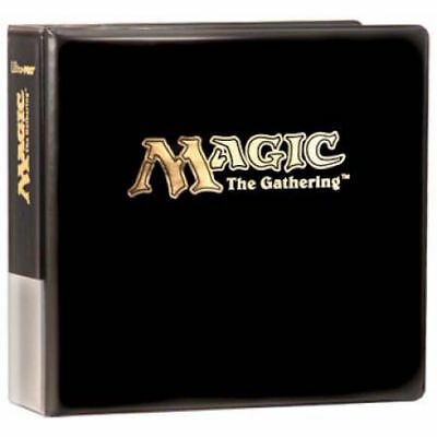 Black Ultra PRO Magic The Gathering MTG Ring Album - Ideal For Pocket Pages