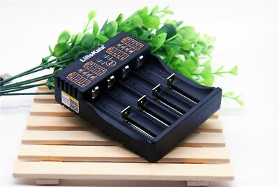 ✓ Chargeur Batterie Universel 5V 2A Pile 18650 26650 Aa/aaa Li-Ion Ni-Mh Lithium
