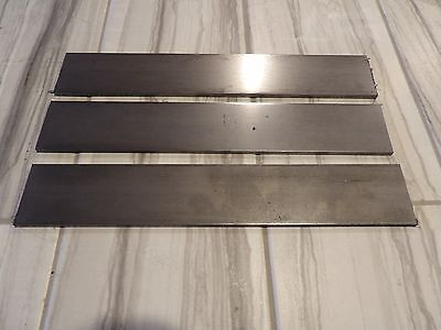 "USA steel lot of 3 -3/16""x2""x12"" 1080 high carbon flat bar knife making billet"