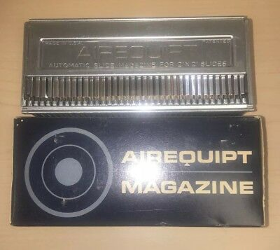 NOS AIREQUIPT Magazine for Automatic Slide Changer Metal 2x2 Slides Vintage.