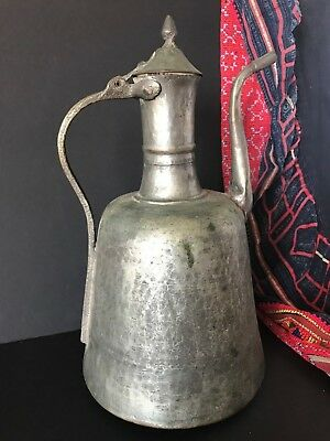Old Turkish Copper Water Pitcher …beautiful shape and patina