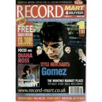 GOMEZ Record Mart And Buyer Issue 13 MAGAZINE UK Msm 1999 With Gomez Cover