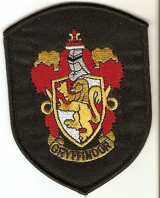 + HARRY POTTER Aufnäher/Patch  GRYFFINDOR LOGO