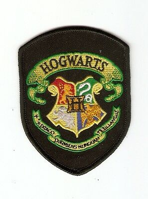 + HARRY POTTER Aufnäher/Patch  HOGWARTS Logo