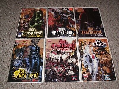 Age of Apocalypse featuring the X-Men #1-6 Complete Set Marvel 2005 VF/NM